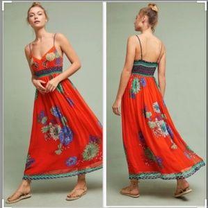 Maeve Ikebana Maxi Dress size 2 GUC